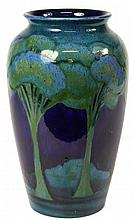 William Moorcroft 'Moonlit Blue' Vase