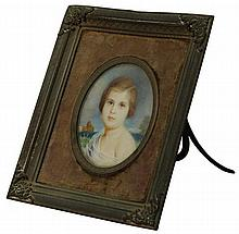 Victorian Hand Painted Miniature