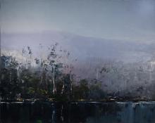 Geoff Dyer (1947 - ) - Haze over Hartz Mountain II 120 x 152 cm