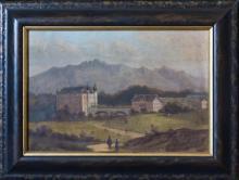 Eastern European School - Country estate