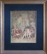 Norman Lindsay - Untitled, 1944 41 x 32.5 cm