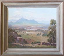 Eric Langker - Australian Landscape 49 x 59cm