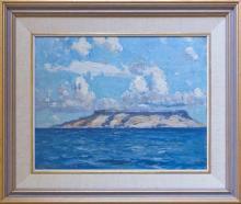 John William (Will) Ashton (1881 - 1963) - The Island 35 x 45cm