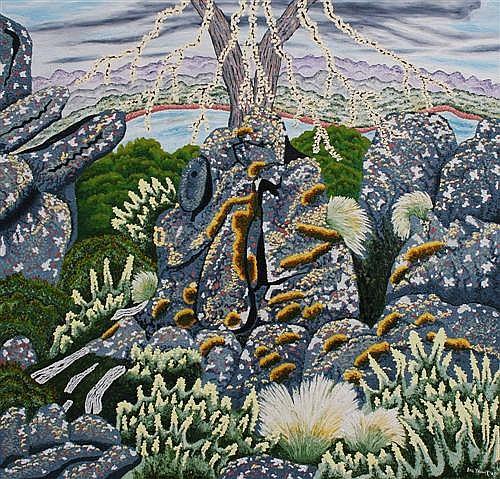 William Yaxley - Miena No. 3 107 x 112cm