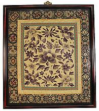 Chinese Antique Silk Tapestry