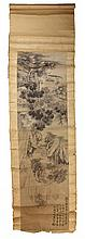 Chinese Ink Wash Scroll