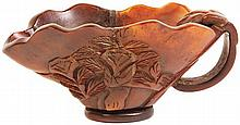Chinese Horn Libation Cup