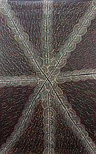 Cowboy Louis Pwerle (c.1941 - ) - Bush Turkey Dreaming 150 x 90cm