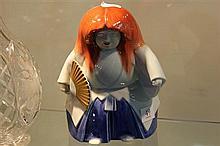 Fukagawa Porcelain Figure