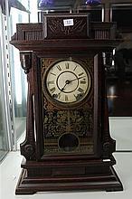 Victorian Seth Thomas Mantel Clock (key and pendulum in office)