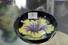Moorcroft Hibiscus Dish