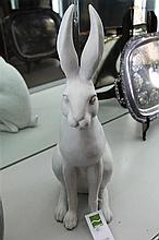 A composite Hare, height 63cm