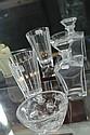 Villeroy & Boch Crystal Vase, Orrefors Vase & a Decanter