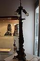 Ornate Gilt Metal Lamp