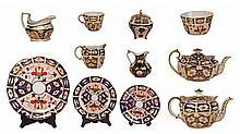 Royal Crown Derby Imari Pattern Tea Wares