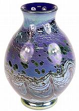 Gerry Reilly Green & Blue Studio Glass Vase