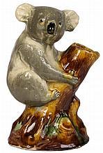 Possibly Grace Seccombe Koala Pottery Vase