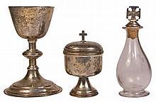 Sterling Silver Communion Set