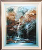 David Voigt (1944 -) - The Mysteries of Split Rock Falls 102 x 81cm, David John Voigt , Click for value