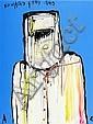 ADAM CULLEN (born 1965) - Ned Kelly 1880 oil on canvas, Adam Cullen, Click for value