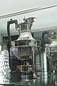 Hardy Bros Silver Plated Kettle on Stand
