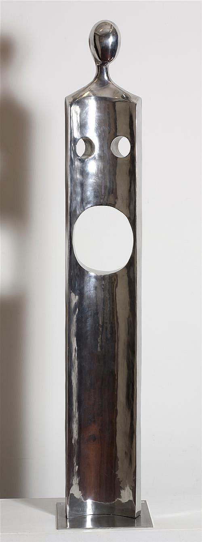 NICOLE ALLEN (born 1967) - Motherhood 2007 hand cast aluminium, edition: 1/10