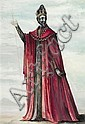 LOUDON SAINTHILL (1919-1969) - Costume Design for Prospero gouache, wash and ink on paper, Loudon Sainthill, Click for value