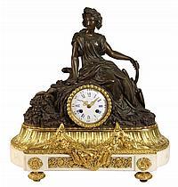 Roblin A Paris Ormolu Clock