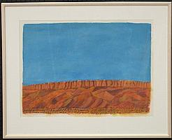 Wayne Eager (1957 -) - Mereenie Range, N.T.