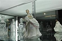 Royal Doulton Figure 'Carol' HN2961 chip