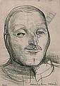 JAMES WIGLEY (1918 - 1999) - Orderley Room Corporal, 1942 25 x 18 cm, James Wigley, Click for value