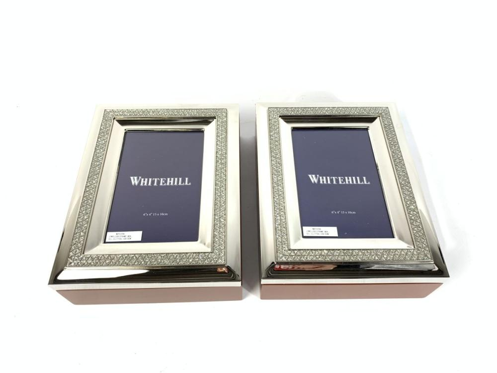 A Pair of Whitehill Jewellery Frames In Boxes ( 15cm x 10cm)