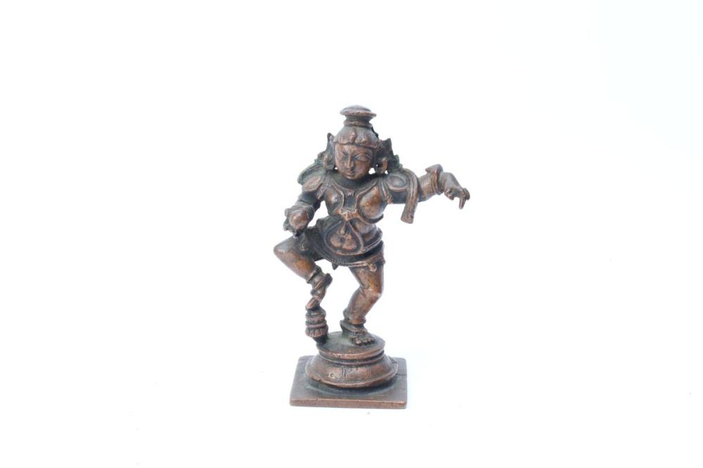 An Indian Bronze Figure
