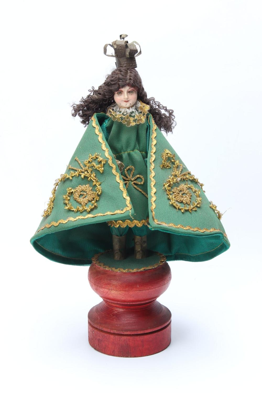 An Infant of Prague/Santo Nino Doll Figure