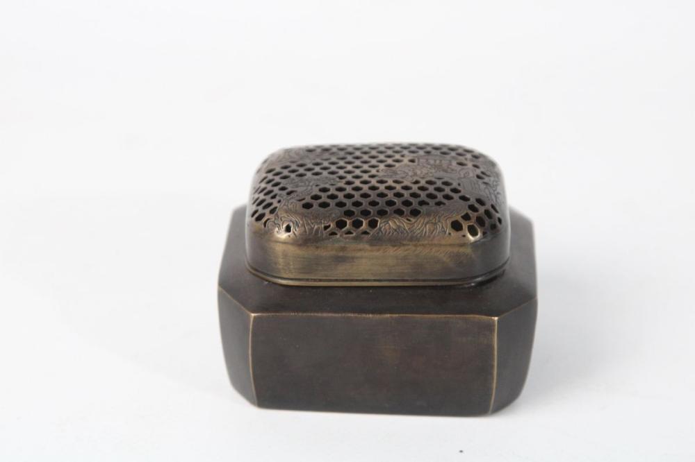 Bronze Hand Warmer W: 8cm