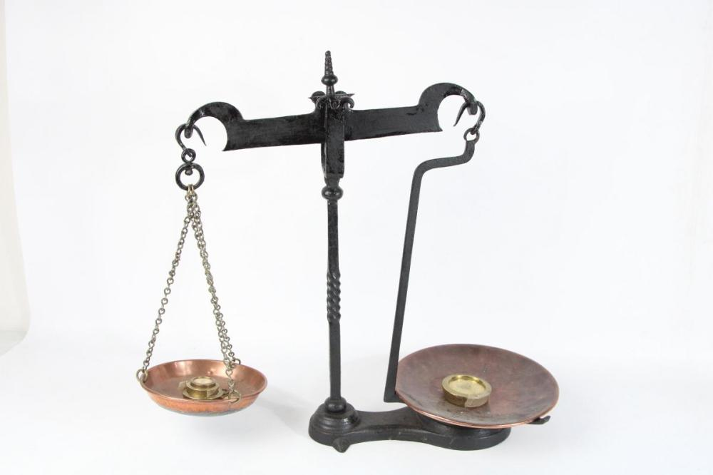 Cast Iron Shop Scales
