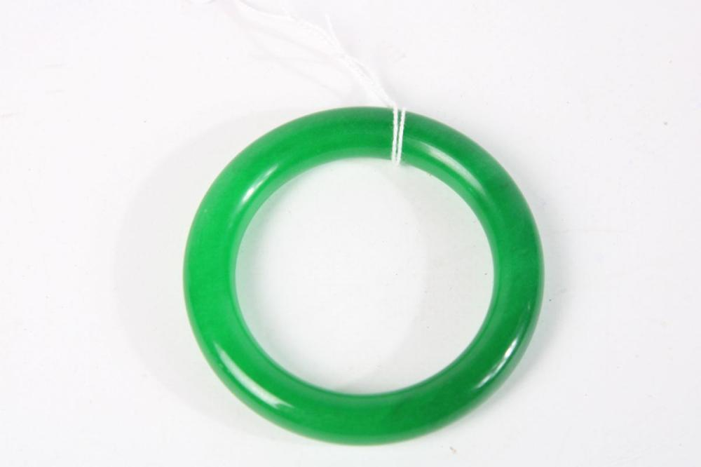 Chinese Green Bangle