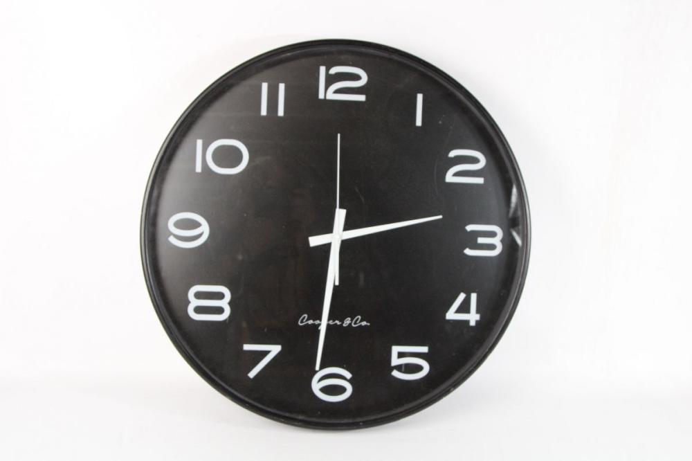 Cooper And Co Large Wall Clock Dia 53cm