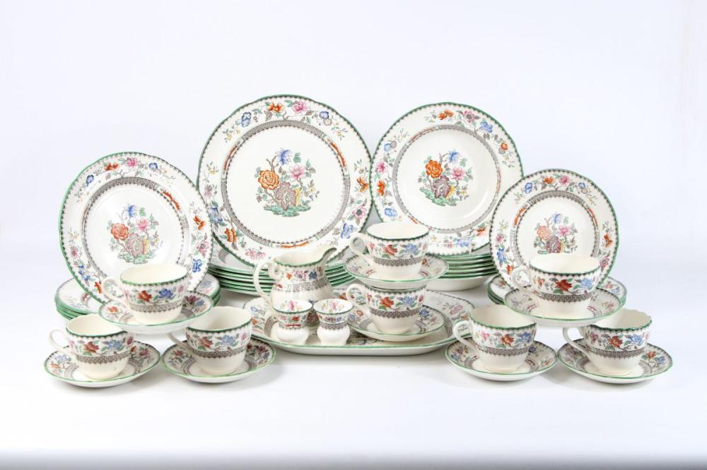 Copeland Spode Dinner And Tea Service