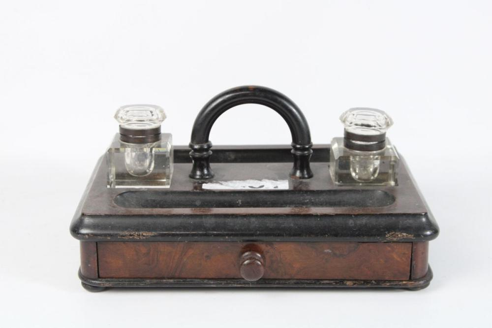 Deco Inkwell With Inkwell