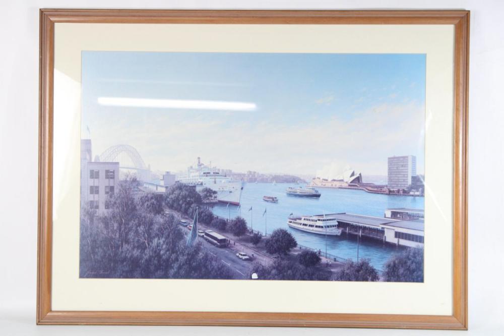 Joseph Frost - 'Sunny Day' Sydney Harbour, 51cm x 80cm