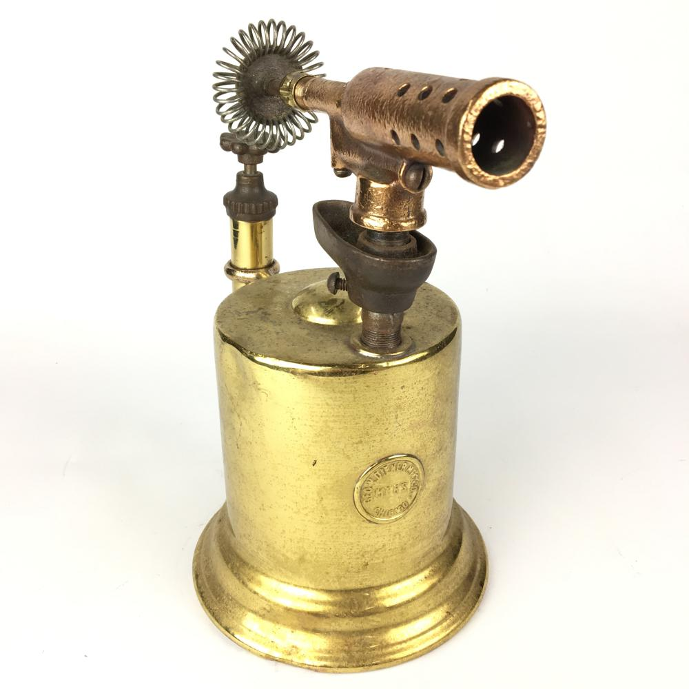Large Brass Blow Lamp
