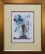 Salvador Dali (1904-1989) - Don Quixote 40 x 30cm