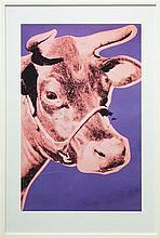 Andy Warhol (1928 - 1987) - Cow 84 x 53cm