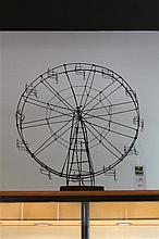 Scrapwork Hand Made Metal Ferris Wheel