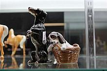 2 Dog Figures incl Royal Doulton