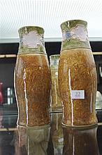 Doulton Lambeth Pair of Vases