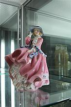 Royal Doulton Figure 'Top o' the Hill' HN 1849