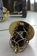Brass Ships Lamp possibly from the Queen Mary during refit at Cockatoo Island