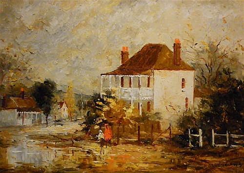 WILMOT WILLIAMS - The Old School House Mudgee 44 x 58cm